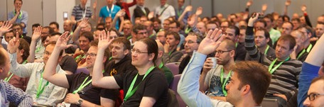 devops conference session attendees