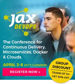 JAX devops conference 3-6 April 2017
