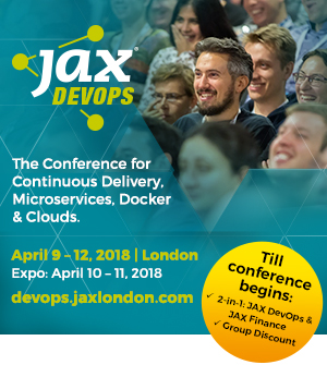JAX devops conference 3-6 April 2017